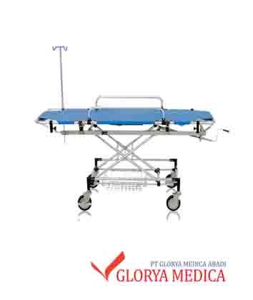 Jual Brancard Emergency Plus. Untuk membawa pasien ke ruang ICU. Bagian matras dapat difungsikan sebagai tandu. Jual Bancard Emergency dengan harga spesial
