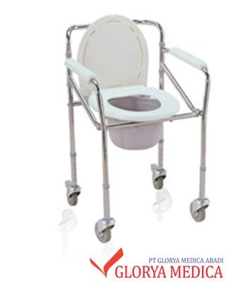 Jual Commode Chair Beroda