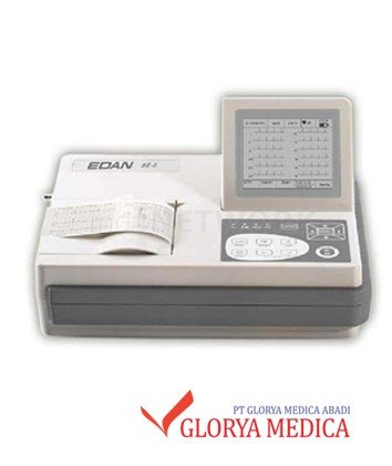 Jual ECG Edan 3 Channel