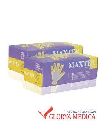Jual Maxter Exam Glove NP / Sarung tangan latex