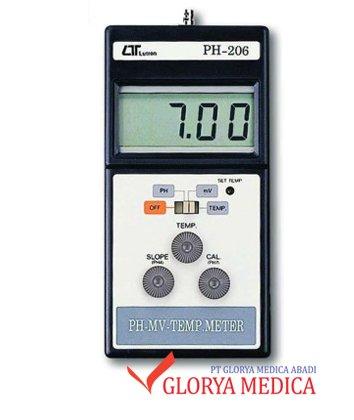 Jual PH Meter Dig Lutron 206 / Alat ukur PH