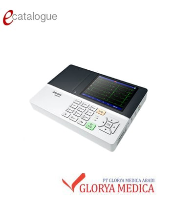 jual ecg Zoncare 3 channel